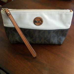 Michael Kors medium cosmetic/clutch bag